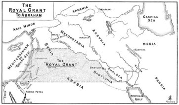 The Royal Grant to Abraham Chart
